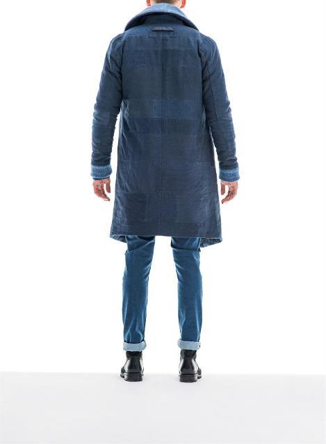 re-cut kendo coat denham jeans long john blog re-use blankets vintage fall winter 2015 jas jack jacket recycle blue indigo rags selvage selvedge jason denham amsterdam collection denim (2)