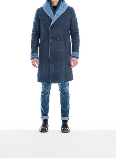 re-cut kendo coat denham jeans long john blog re-use blankets vintage fall winter 2015 jas jack jacket recycle blue indigo rags selvage selvedge jason denham amsterdam collection denim (4)