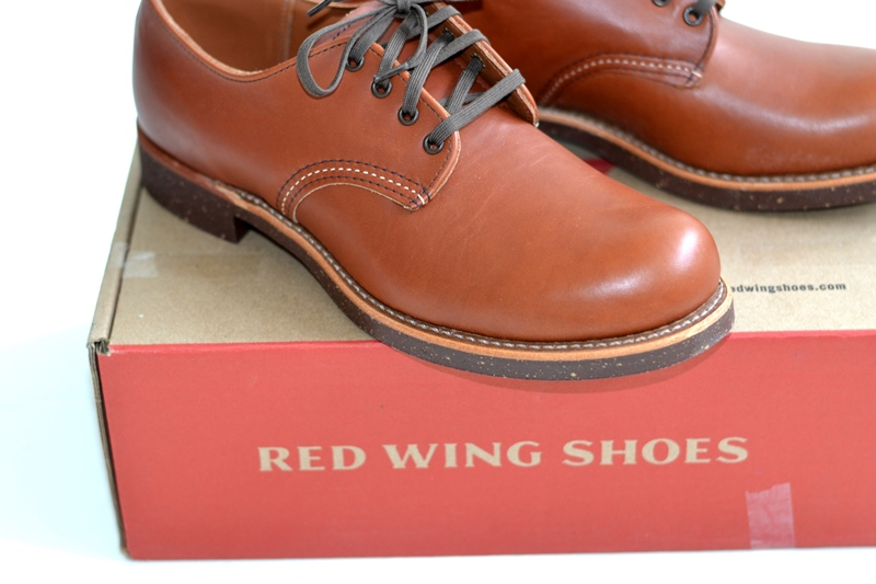 red wing 8052 oxford brick long john blog warenmagazijn footwear shoes brown usa goodyear welted sole new 2015 handmade craftsmanship laces (2)