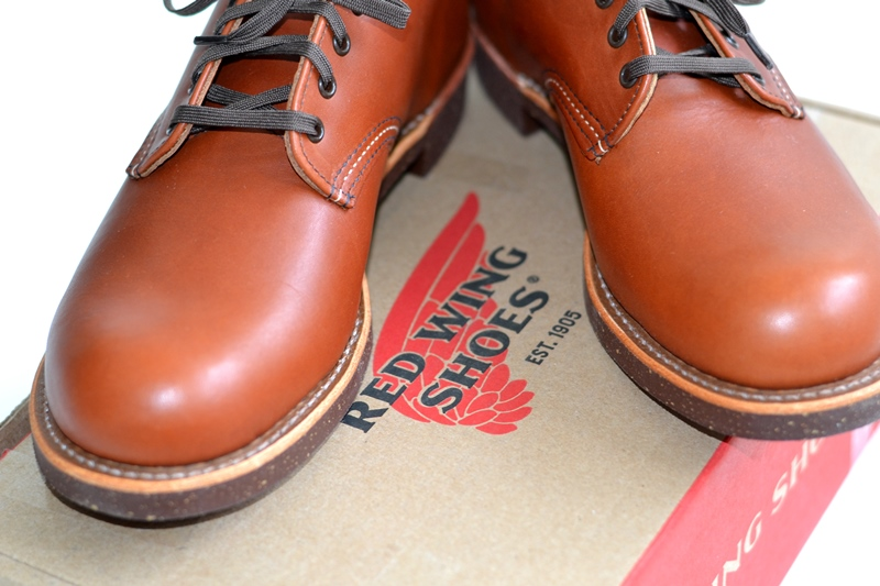 red wing 8052 oxford brick long john blog warenmagazijn footwear shoes brown usa goodyear welted sole new 2015 handmade craftsmanship laces (7)