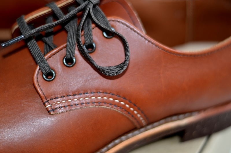 red wing 8052 oxford brick long john blog warenmagazijn footwear shoes brown usa goodyear welted sole new 2015 handmade craftsmanship laces (8)