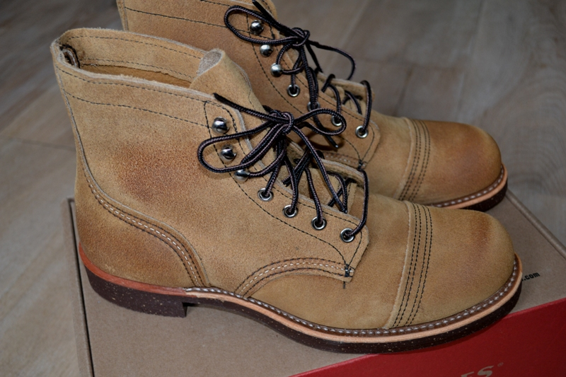red wing 8113 iron ranger shoes long john blog warenmagazijn online store shop redwing usa handmade goodyear welted brown boots miners workers workwear jeans denim  (20)