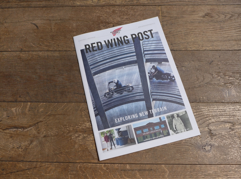 red wing post 2 amsterdam usa long john blog atelier del armee bags handmade army denim jeans 2015 spring summer selvage selvedge creative duo elza joost store retail footwear shoes (2)