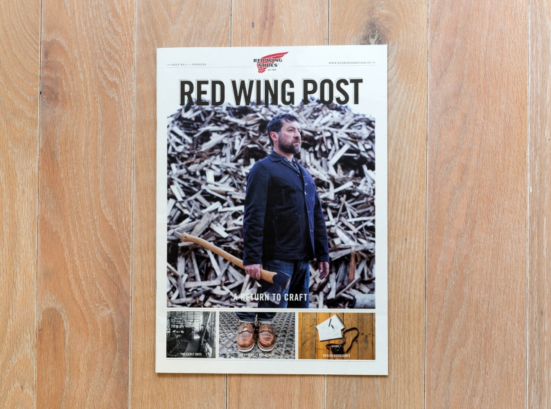 red wing post long john blog boots amsterdam magazine paper krant issue 1 2014 free handmade goodyear welted construction american news paper (3)