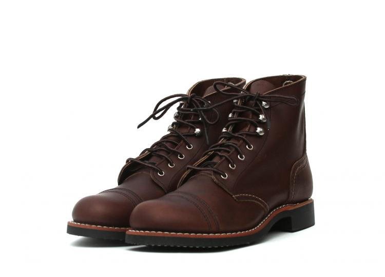 red wing women ladies long john blog goodyear welted leather biker moc toe iron ranger natural vegetable tanned leather usa handmade history  (1)