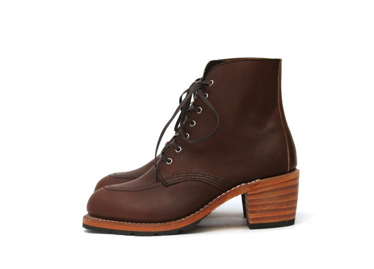 red wing women ladies long john blog goodyear welted leather biker moc toe iron ranger natural vegetable tanned leather usa handmade history  (7)