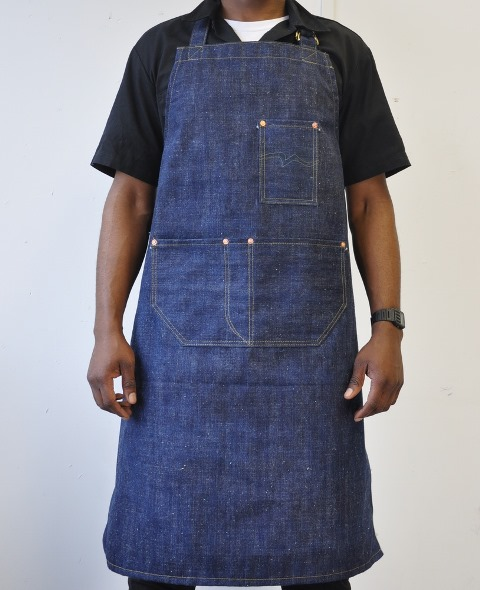 rest denim long john blog london jeans fabric japan handmade uk toby selvage selvedge rigid unwashed blue indigo schort handgemaakt spijkerbroek blauw rivets rivet stitching chain  (1)