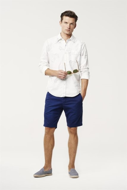 roy rogers roy roger's long john blog clothing italy guido biondi jeans denim authentic italian made summer spring 2015 shorts shirts tshirts jack jacket blue  (4)