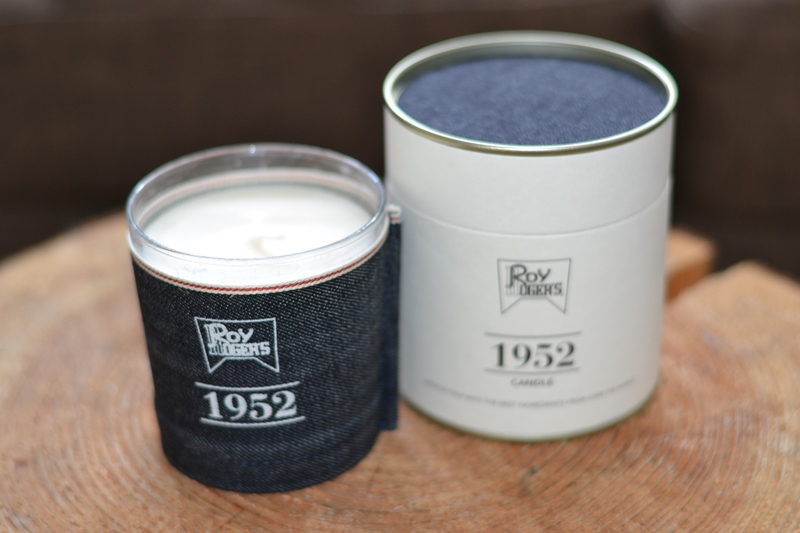 roy roger's rpy rogers long john blog jeans denim candle light fragrance home sevenbell company italy handmade guido biondi selvage fabric selvedge kaars spijkerstof blue blauw (2)