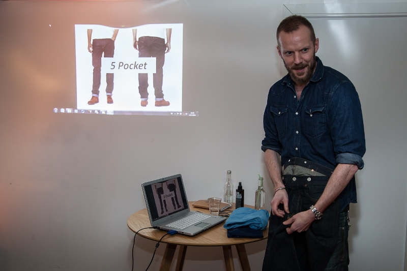 sOliver Oliver long john blog clothing germany hartenstraat amsterdam nl holland jeans denim workshop presentatie lecture fred van leer styling stylist blogger event bloggers blauw blue pop-up store (11)