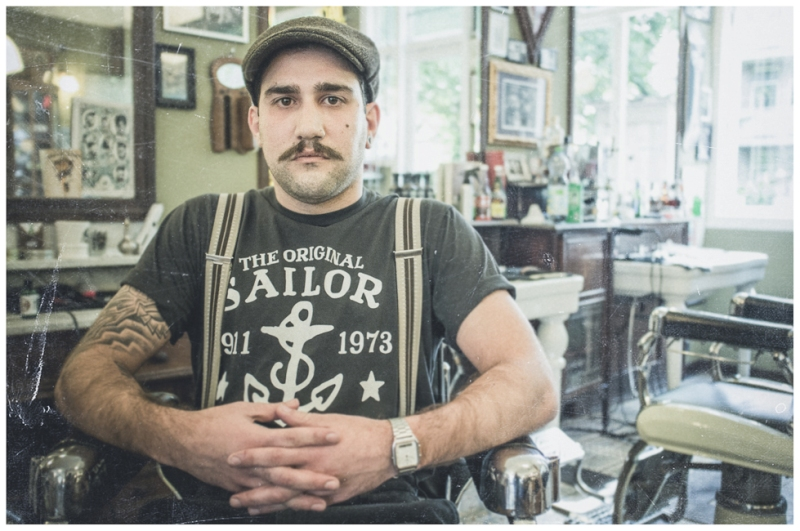 Schorem Barbers From Rotterdam Nl X Sailor Jerry