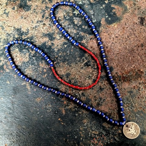 samrobertsla necklaces long john blog vintage stuff clothing rare treasures laces neck indigo handmade vintage blue (7)