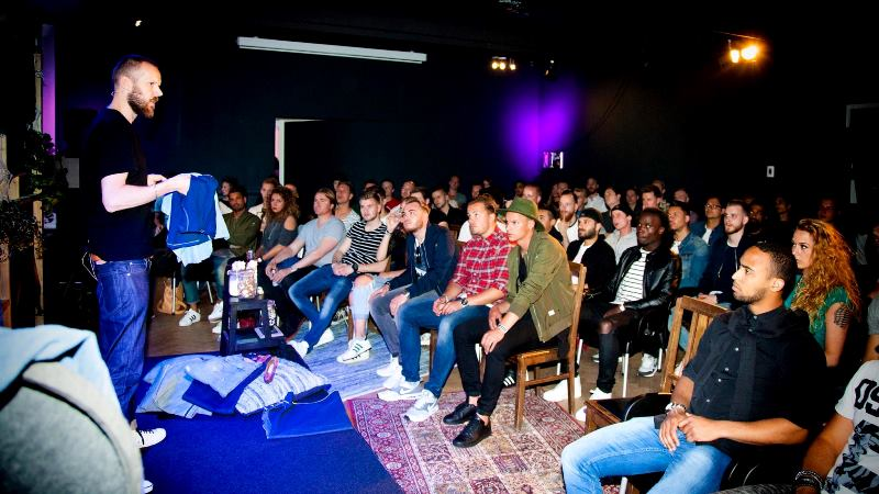 score event long john blog denim workshop masterclass masterclasses arnhem retail stores shops holland 2015 presentation jeans knowledge teacher blue indigo special spijkerbroek evenement  (7)