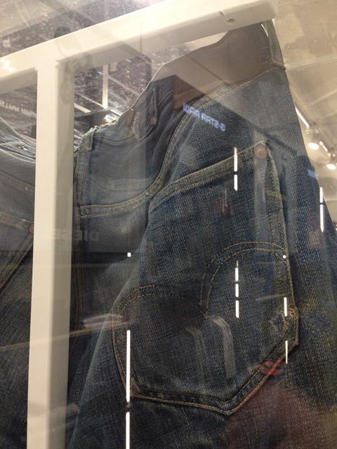 score kalverstraat amsterdam long john blog denim jeans levis levi strauss 1927 501 501XX yutaka fujihara japan tokyo berberjin vintage 2015 collection worn old (2)