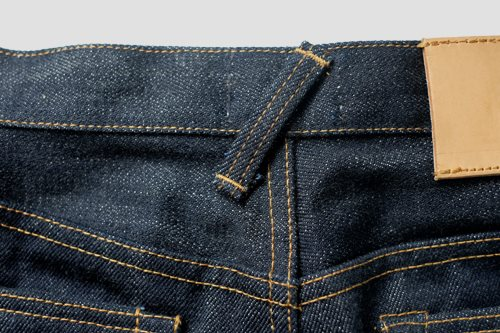 spanky denim long john blog jeans selvage indonesia japan usa fabrics selvedge raw rigid blue indigo wornout vintage leather  (7)