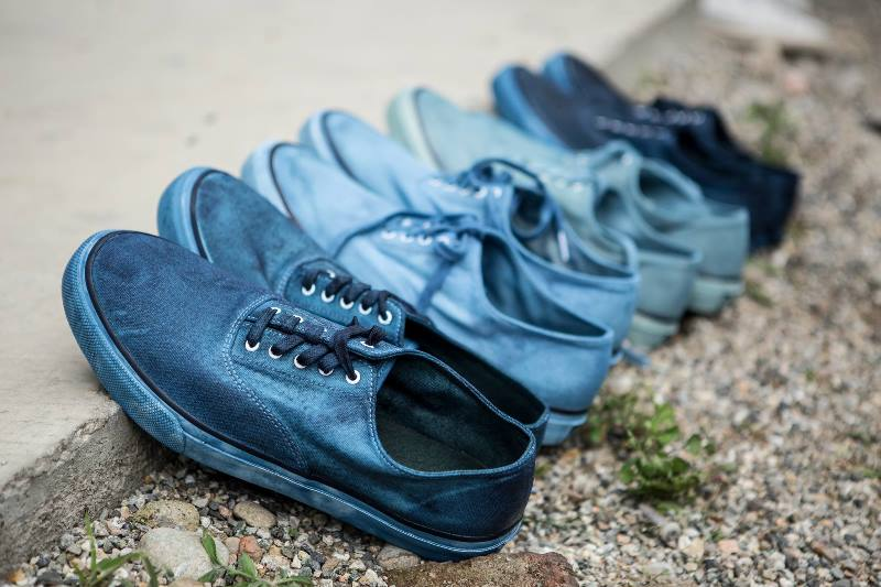 sperry footwear shoes long john blog blue indigo denimboulevard milan natural dipping dip event 2016 jeans denim special (4)