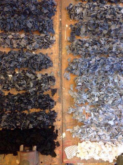 spijkerbrij denim jeans bow tie handmade long john blog blue new recycle fresh hku leonie lois amsterdam holland blue love blauw strikje vlinderdasje re-use  (6)