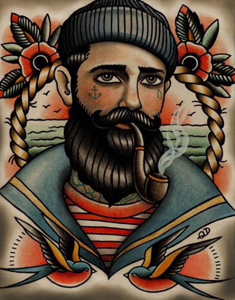 Tattoo Art Artist Quyen Dinh Long John Jpg 475x606 Americana