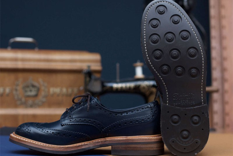 tenuedenimes tenue de nimes long john blog trickers footwear shoes uk collab collaboration blue indigo dandy handmade leather goodyear welted construction boots 2015 shop store amsterdam nl holland (1) - kopie