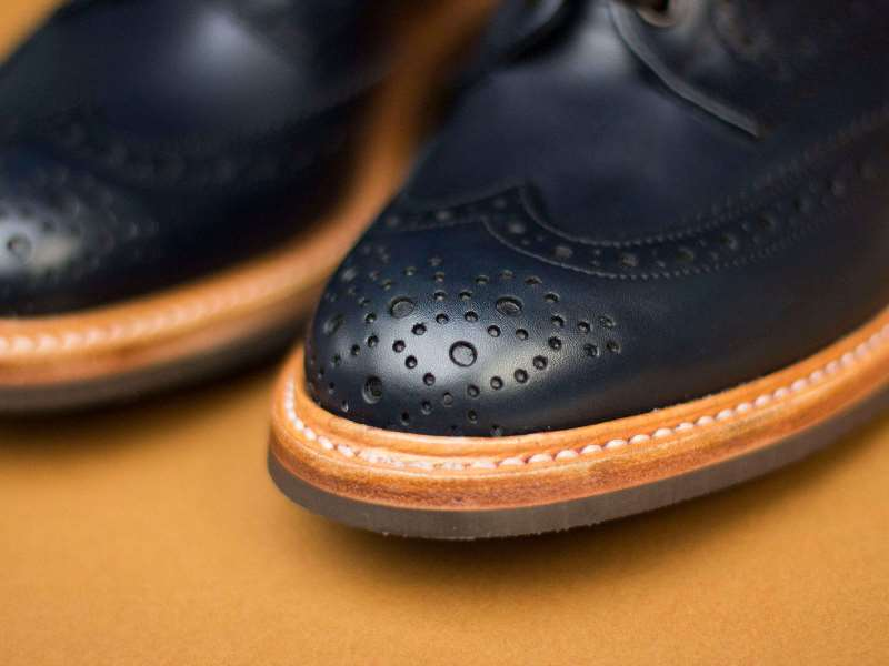 tenuedenimes tenue de nimes long john blog trickers footwear shoes uk collab collaboration blue indigo dandy handmade leather goodyear welted construction boots 2015 shop store amsterdam nl holland (3) - kopie