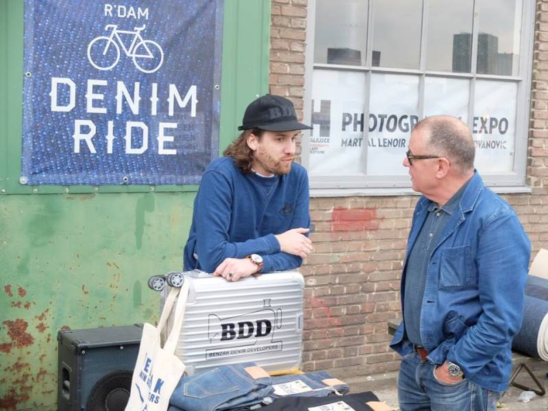the denim ride rotterdam long john blog paul van der blom jeans denim bikes fietsen event festival brands merken haven stad city blauw indigo bob hoogland benzak tulp kurt mr ed selvage selvedge (12)