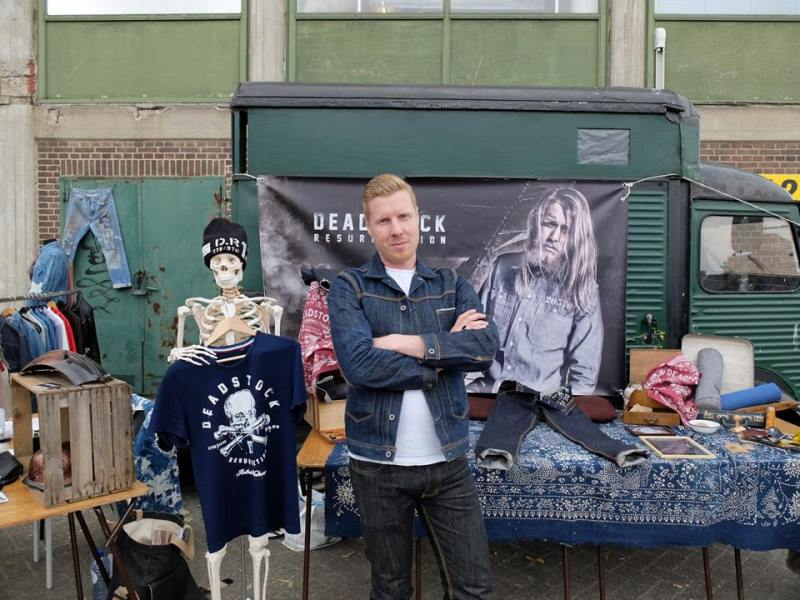 the denim ride rotterdam long john blog paul van der blom jeans denim bikes fietsen event festival brands merken haven stad city blauw indigo bob hoogland benzak tulp kurt mr ed selvage selvedge (19)