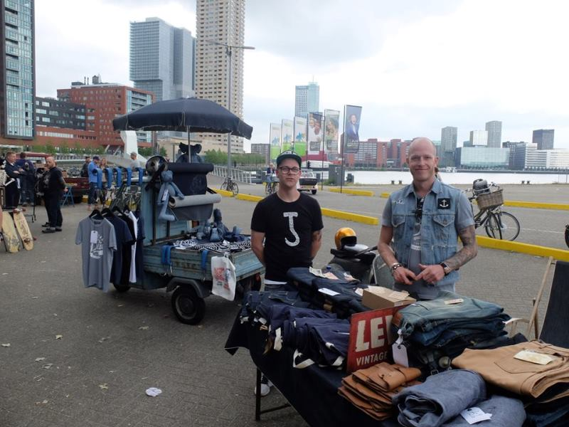 the denim ride rotterdam long john blog paul van der blom jeans denim bikes fietsen event festival brands merken haven stad city blauw indigo bob hoogland benzak tulp kurt mr ed selvage selvedge (6)
