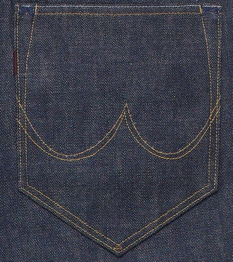 the one goods long john blog jeans denim blue rigid raw unwashed handmade selvage selvedge button leather patch tanned vegetable woven 5 pocket one piece fly (1)