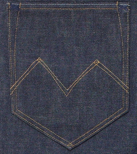 the one goods long john blog jeans denim blue rigid raw unwashed handmade selvage selvedge button leather patch tanned vegetable woven 5 pocket one piece fly (11)