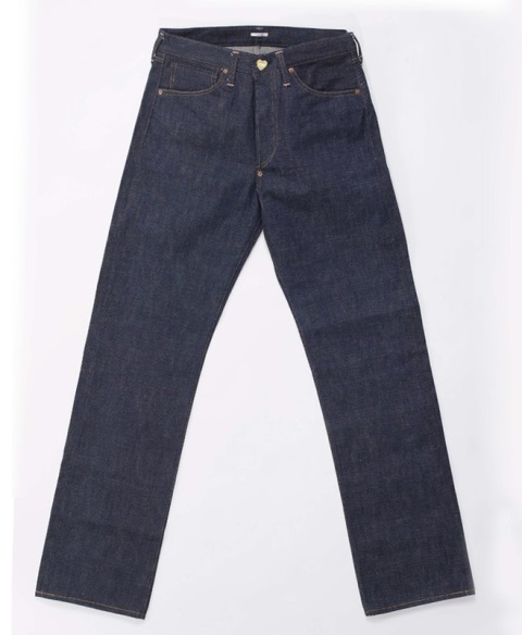 the one goods long john blog jeans denim blue rigid raw unwashed handmade selvage selvedge button leather patch tanned vegetable woven 5 pocket one piece fly (12)