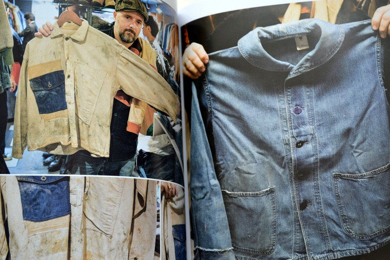 the overall magazine long john blog jeans denim boots authentic workwear italy worker blue indigo book mag blue magazine farm edition snap shot edition  (19)