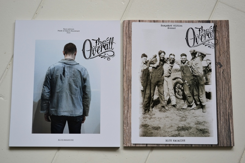 the overall magazine long john blog jeans denim boots authentic workwear italy worker blue indigo book mag blue magazine farm edition snap shot edition  (2)