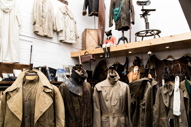 the vintage showroom london uk long john blog clothing workwear military jeans denim clothes archive collectors (1)