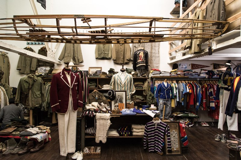 the vintage showroom london uk long john blog clothing workwear military jeans denim clothes archive collectors (3)