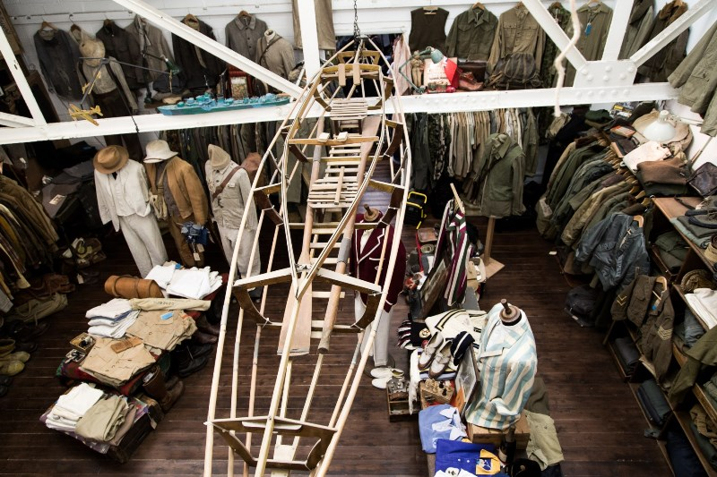 the vintage showroom london uk long john blog clothing workwear military jeans denim clothes archive collectors (4)