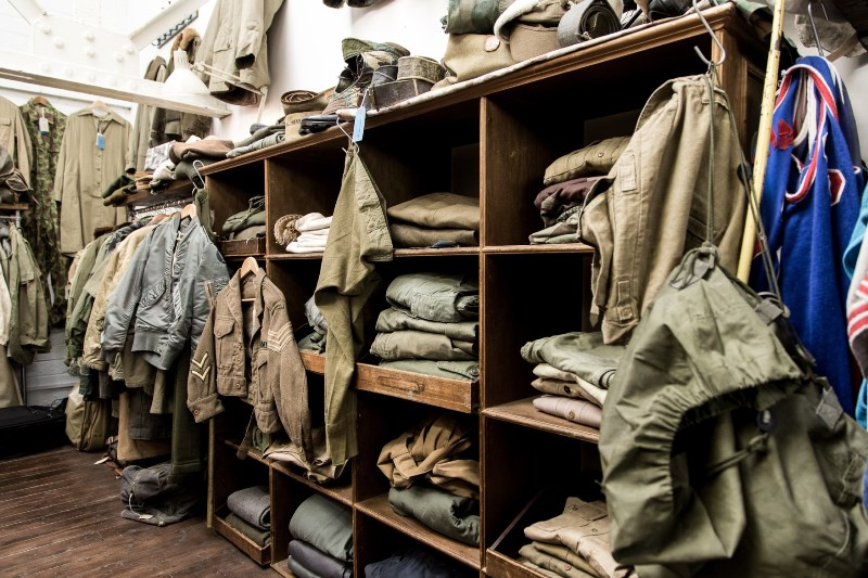 the vintage showroom london uk long john blog clothing workwear military jeans denim clothes archive collectors (5)