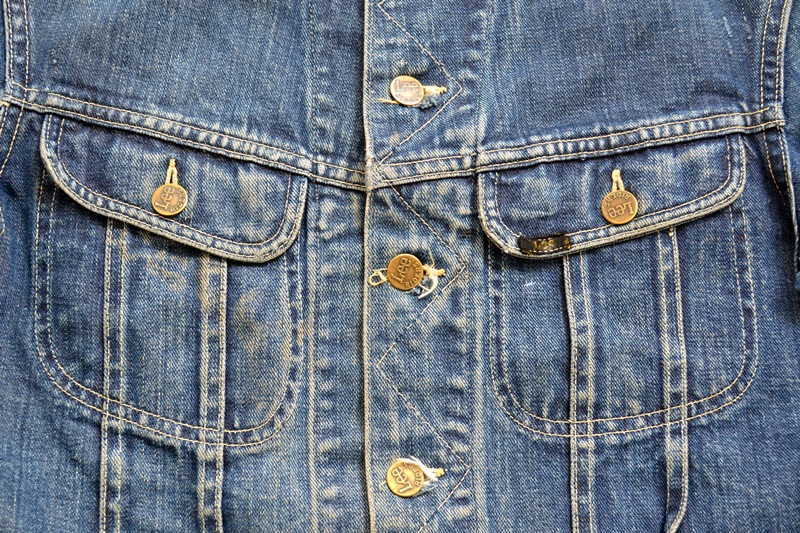vintage lee 101-J jacket long john blog 1950 original cowboys cowboy jack treasure denim usa us spijkerjas oud 101 golden red label tag buttons denimjack denimhead eye cat  (6)