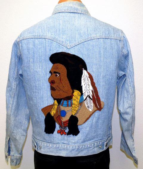 vintage levis jacket denim original indian (2)