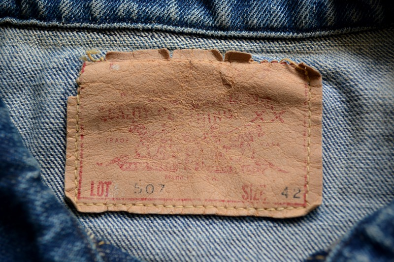 vintage levi's jeans 507XX denim long john blog type 2 original authentic usa american patch workwear rock and roll button #0 selvage selvedge redline worn-out washed (9)