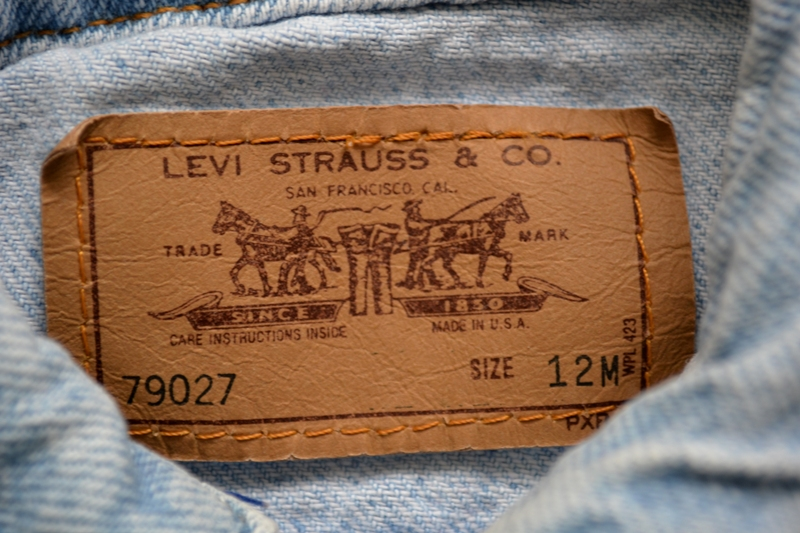 vintage levi's jeans jack baby long john blog orange tab 5 pocket right hand fabric light blue zipper usa levi strauss non-selvage selvedge buttons treasure hunting private collection wouter munnichs u (7)