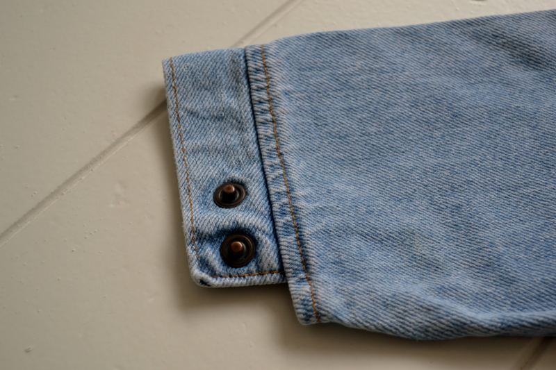 vintage levi's jeans jack baby long john blog orange tab 5 pocket right hand fabric light blue zipper usa levi strauss non-selvage selvedge buttons treasure hunting private collection wouter munnichs us ma (3)
