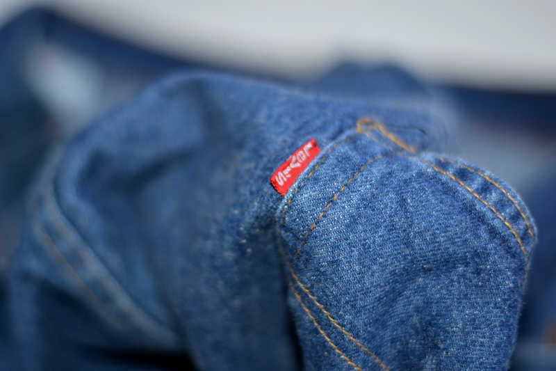 vintage levis jeans long john blog original shrink to fit size 54 usa redline selvage selvedge indigo blue america levi strauss  (10)