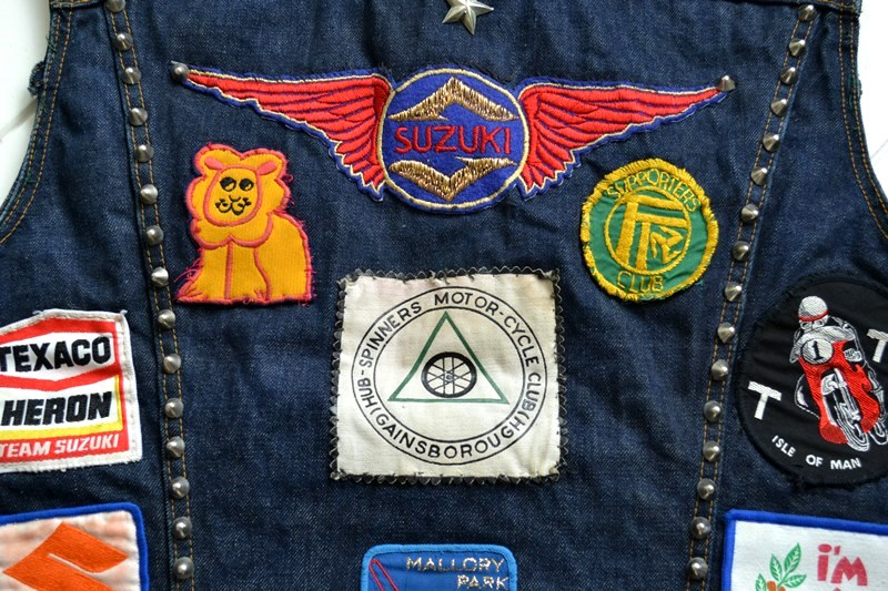vintage levis jeans trucker big e jacket long john blog archive biker suzuki usa collectors 1968 (14)