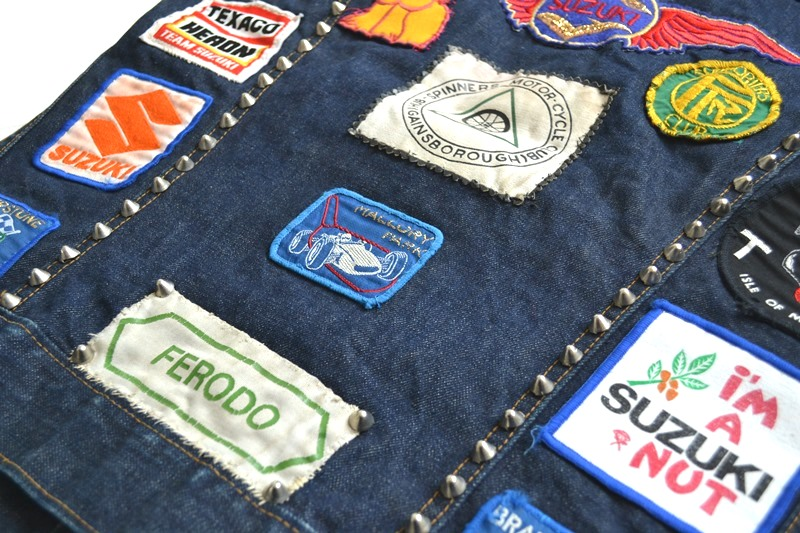 vintage levis jeans trucker big e jacket long john blog archive biker suzuki usa collectors 1968 (16)