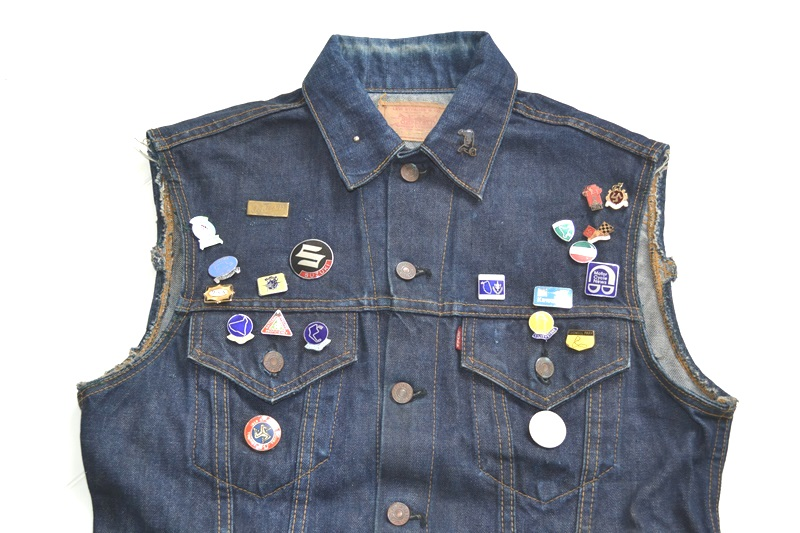 vintage levis jeans trucker big e jacket long john blog archive biker suzuki usa collectors 1968 (3)