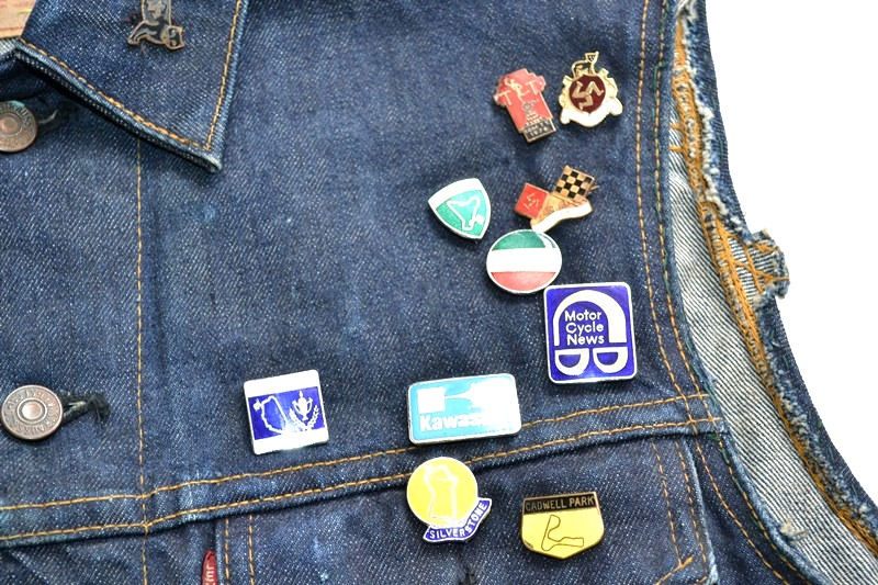 vintage levis jeans trucker big e jacket long john blog archive biker suzuki usa collectors 1968 (5)