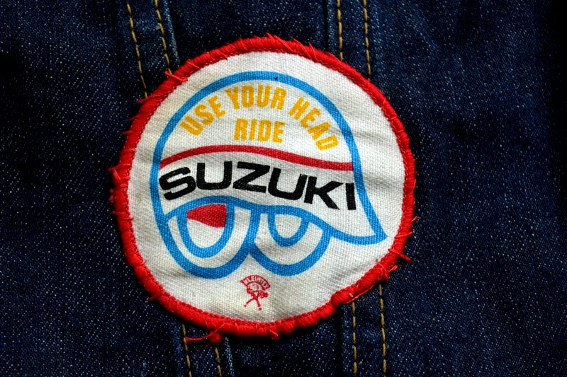 vintage levis jeans trucker big e jacket long john blog archive biker suzuki usa collectors 1968 (9)