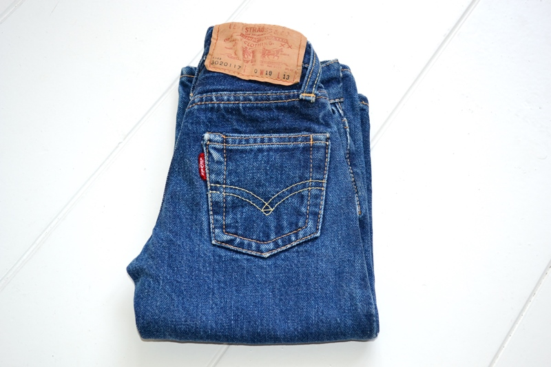 vintage-levis-levis-big-e-kids-toddler-jeans-denim-long-john-blog-bige-zipper-talon-24-snap-button-selvage-selvedge-single-stitched-baby-1960-original-usa-made-lemon-tabacco-2
