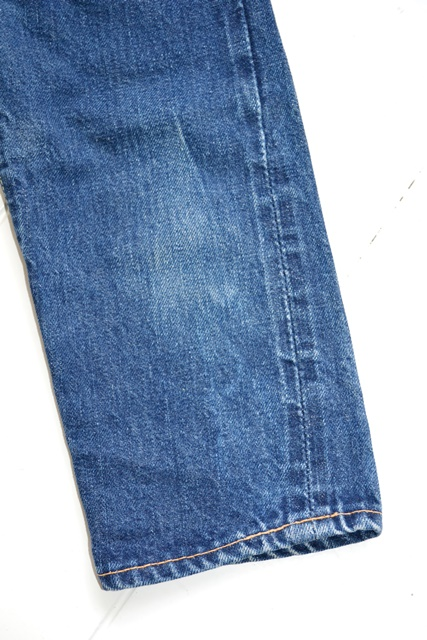 vintage-levis-levis-big-e-kids-toddler-jeans-denim-long-john-blog-bige-zipper-talon-24-snap-button-selvage-selvedge-single-stitched-baby-1960-original-usa-made-lemon-tabacco-7