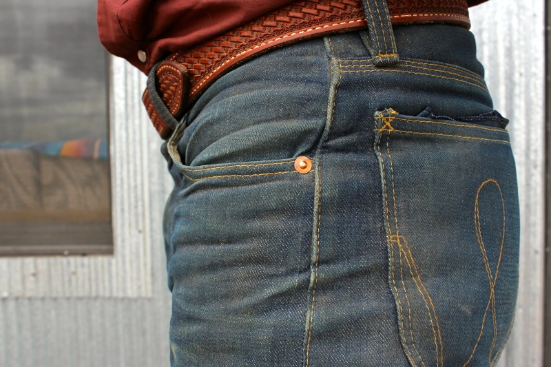 white horse trading company jeans denim long john blog cowboy rigid raw old school skool selvage selvage  (4)